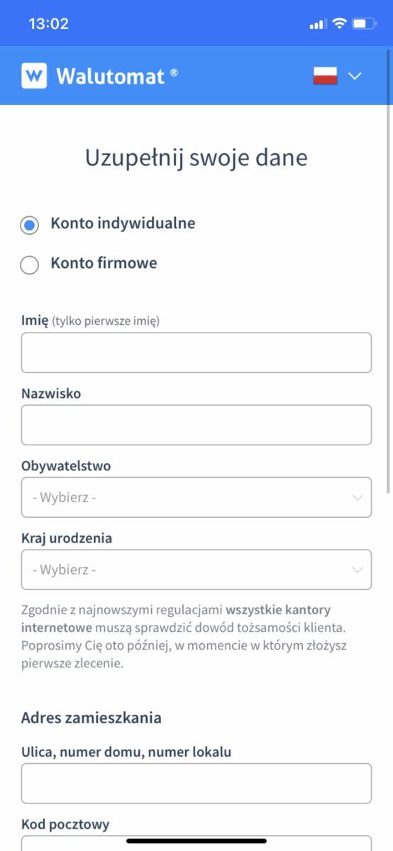Walutomat.pl - kursy walut