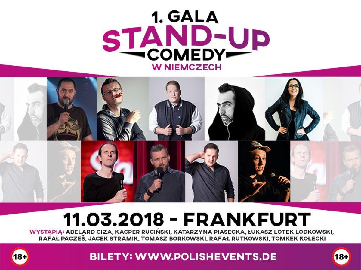 1. Gala Stand-Up Comedy w Niemczech