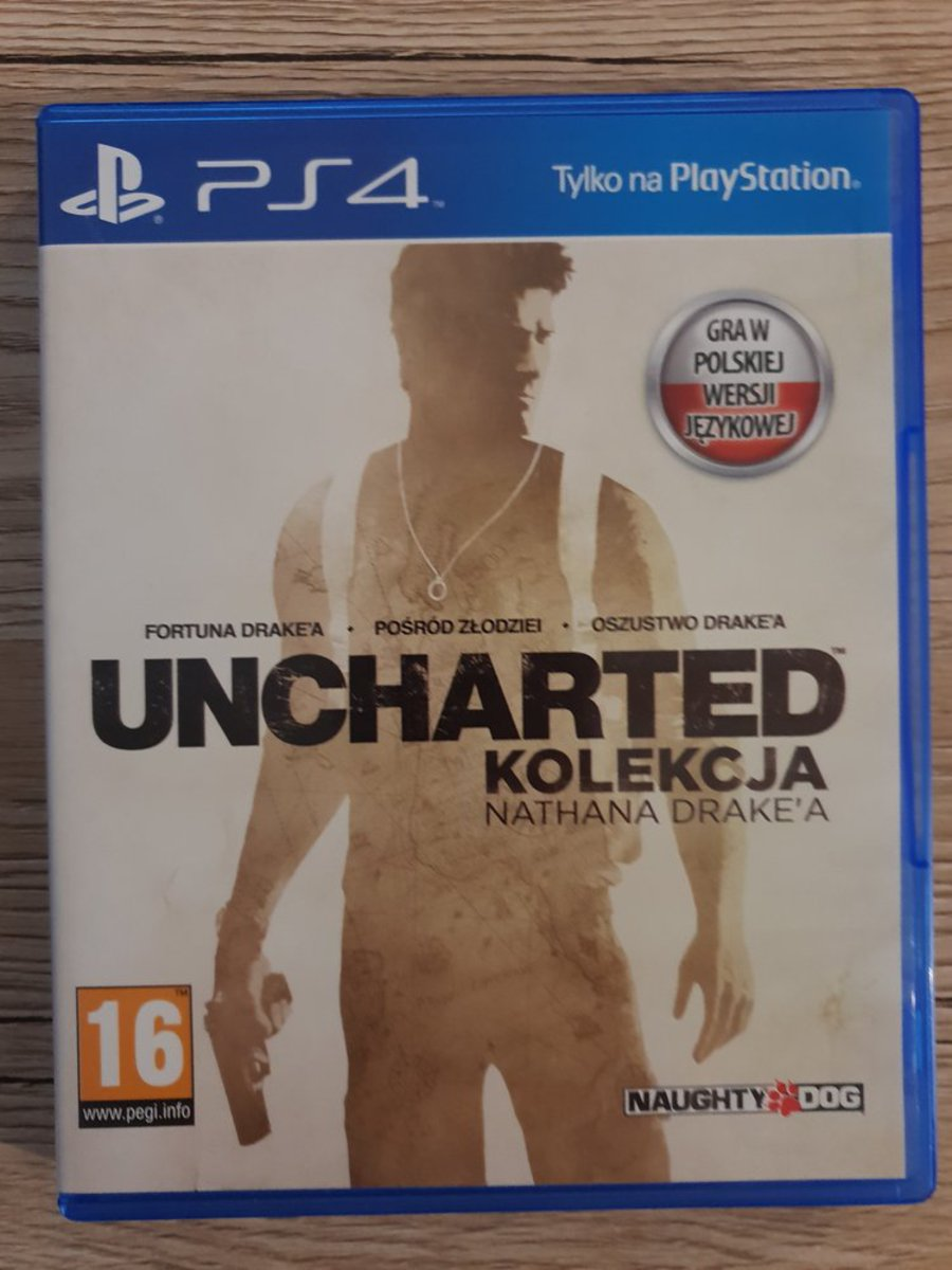 Uncharted: The Nathan Drake Collection PL PS4