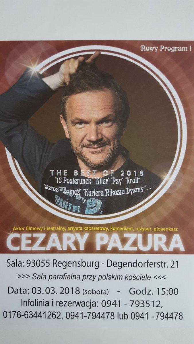 Kabaret- Cezary Pazura
