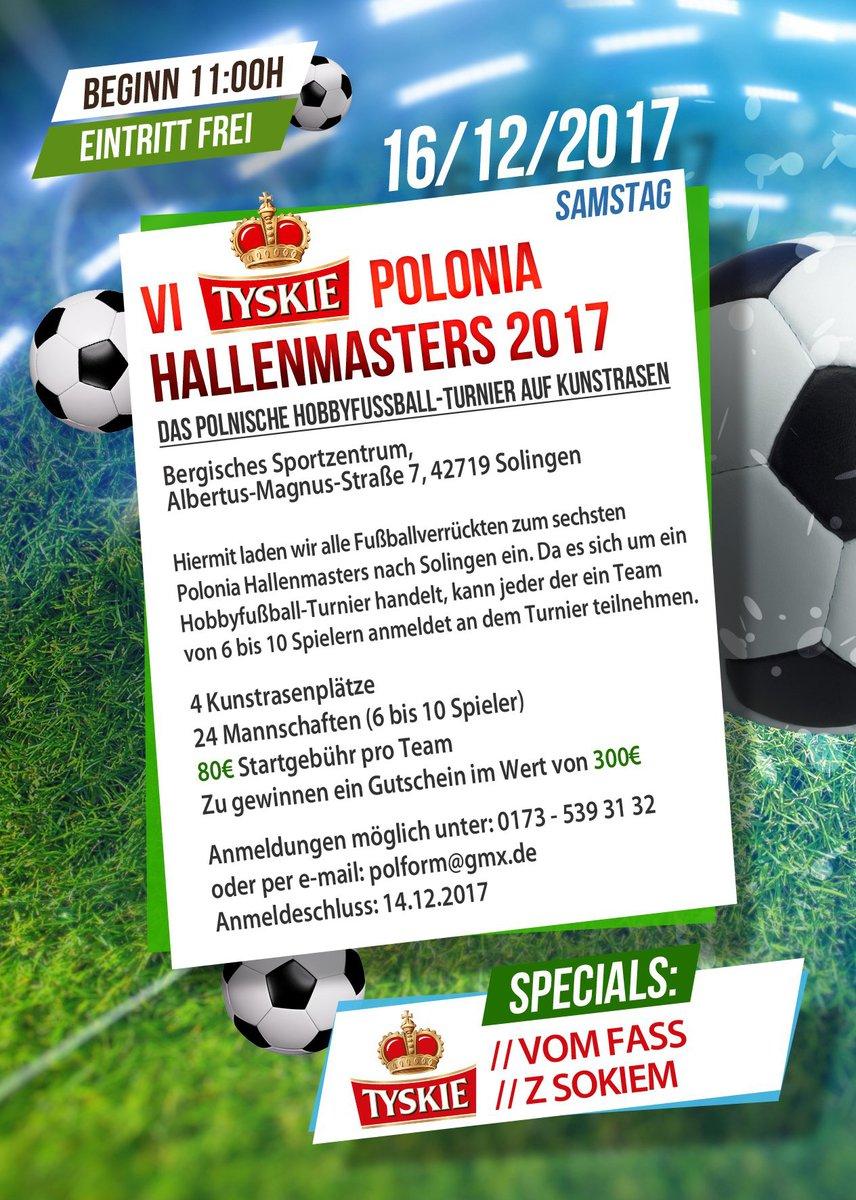 VI. TYSKIE Polonia Hallenmasters 2017 w Solingen -