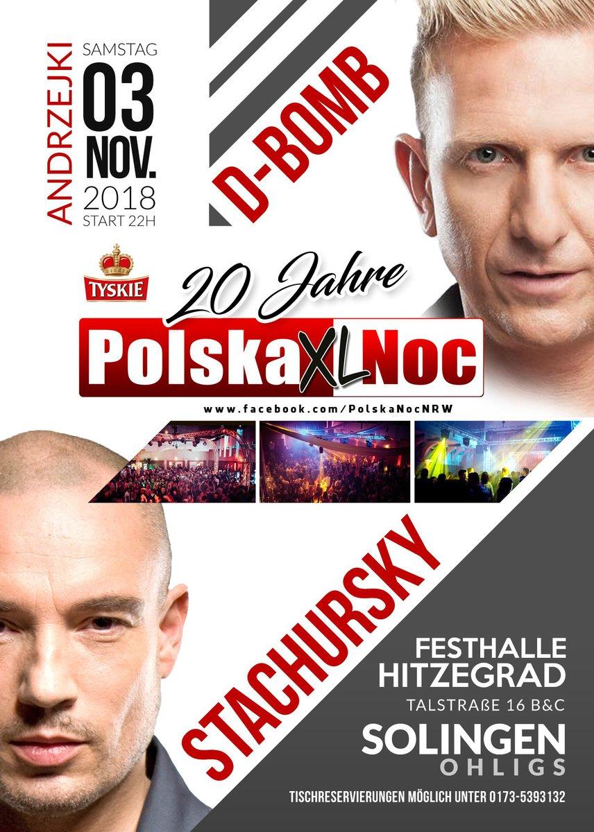 20 lat POLSKIEJ NOCY w NIEMCZECH ❤️ Koncerty D-BOMB + JACEK STACHURSKY live - MyPolacy.de