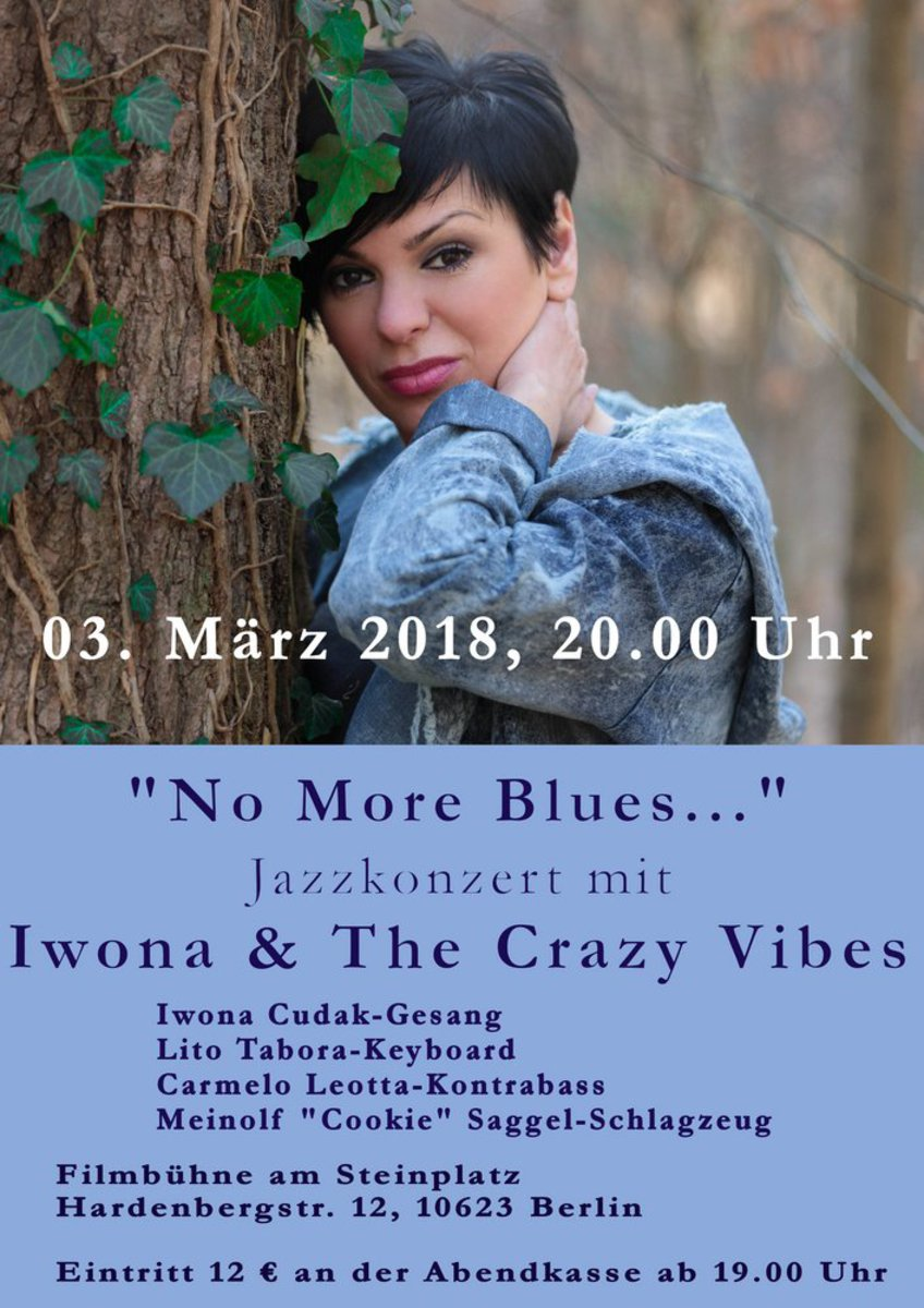 "Koncert grupy ""The Crazy Vibes"" z Iwoną Cudak (voc)"