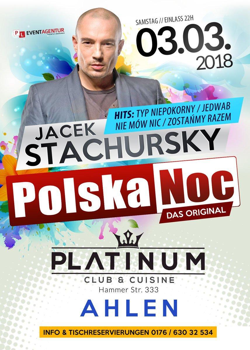 JACEK STACHURSKY LIVE - POLSKA NOC AHLEN