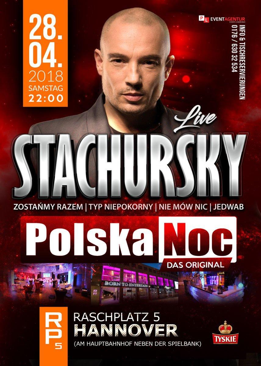 JACEK STACHURSKY LIVE W HANNOVER - POLSKA NOC - MyPolacy.de