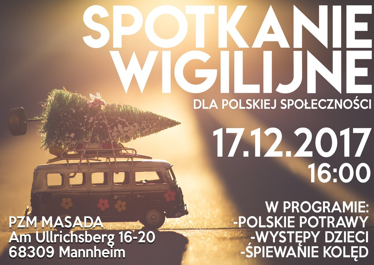 Spotkanie Wigilijne dla Polskiej Społeczności