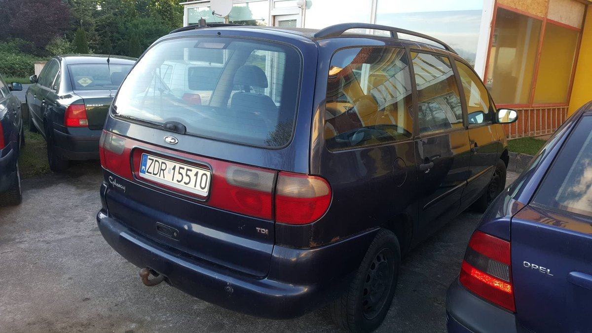 Ford galaxy 1.9 tdiCLIMATRONIC