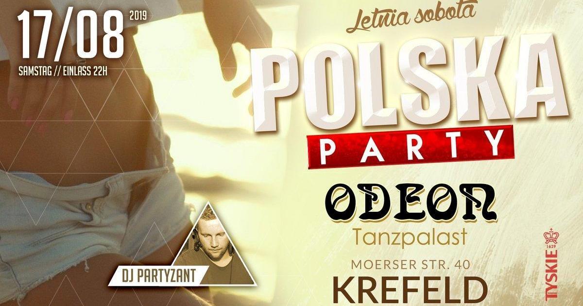 POLSKA PARTY w KREFELD ️Letnia edycja 2019 ️ DJ PARTYZANT live